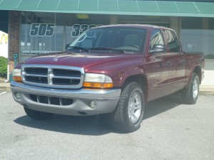 2002 Dodge Dakota Club Cab SLT