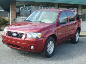 2007 Ford Escape Limited  #2255